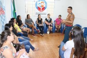 """Reunião do Grupo Gestar de Itaporã teve como tema """"Os Primeiros Socorros com o Bebê"""""""