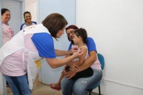 Dia D da Vacinação contra o Sarampo foi realizada com sucesso em Itaporã