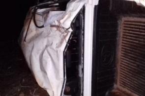Capotamento deixa dois mortos e um ferido no Norte de MS
