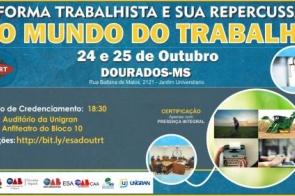 Evento jurídico discute 'Reforma Trabalhista e sua repercussão no mundo do trabalho'