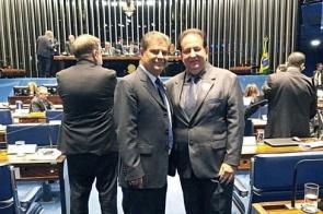 Pacco busca recursos junto ao senador Nelsinho Trad visando conquistas para 2020