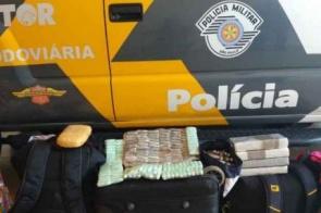 Passageiros que saíram de MS são presos com cocaína em SP