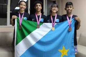 Judô de MS garante 4 medalhas no judô em campeonato em SC