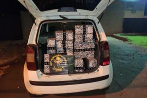 Carro com mercadoria contrabandeada é apreendido em Maracaju; 2° no final de semana