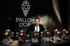 Messi conquista sexta Bola de Ouro e se isola como maior vencedor