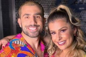 Romance de Kaysar e bailarina, seu par no 'Dança dos famosos', engrena após viagem