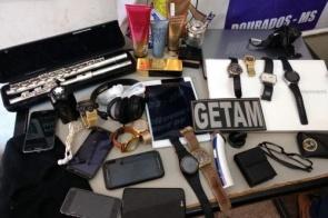Polícia recupera objetos e fecha ponto de receptação em Dourados