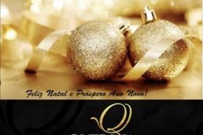 Loja Querina Confecções deseja a todos os clientes e amigos Feliz Natal e um Próspero 2020