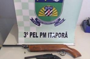 Idoso desfere tiro na cabeça de Jovem de 23 anos em Itaporã
