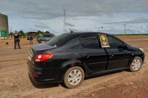 Casal de batedores é preso por tráfico na MS-164 em Maracaju