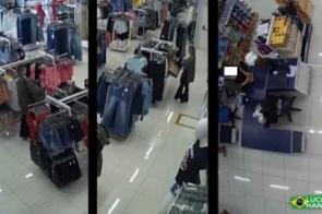 Mulher é presa após furtar loja de departamentos em Dourados