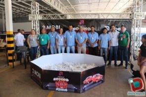 Supermercados Abevê realizou sorteio de dois veículos 0 KM no último sábado em Dourados