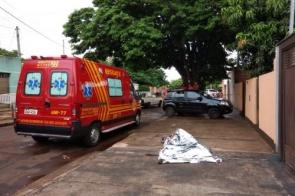 Homem morre após ser atingido por facada no pescoço em bairro de Dourados