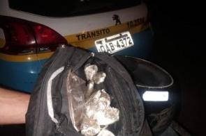 Motoboy do tráfico fica em estado grave após acidente