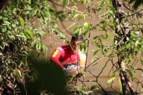 Corpo de pescador é encontrado em rio a cinco metros de profundidade