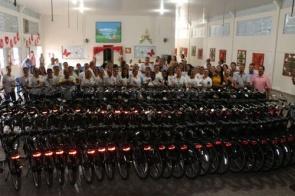 Agentes de Saúde e Endemias recebem Bicicletas Elétricas em Itaporã