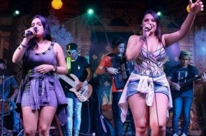 Luna e Lorrayne fecha programação de shows no 2º Itaporã Fest Bulls