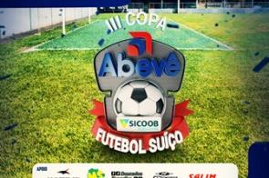 Restam apenas 5 vagas para se fechar as inscrições para a 3ª Edição da Copa Abevê de Futebol Suíço