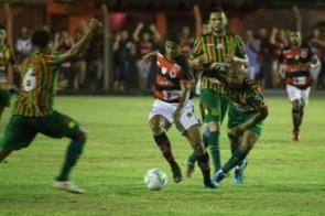 Águia bate o Sampaio Corrêa e está na 2ª fase da Copa do Brasil