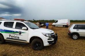 Homem encontrado morto em plantação estava desaparecido há 30 dias