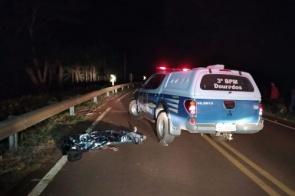 Agora: Itaporanense morre ao bater de moto na BR-163