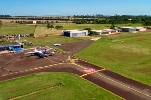 Nova sinalização do aeroporto está pronta para receber o Boeing 737/700