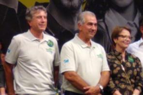 """""""Vamos afinar o discurso para caminharmos juntos"""", diz Murilo sobre aliança DEM/PSDB"""