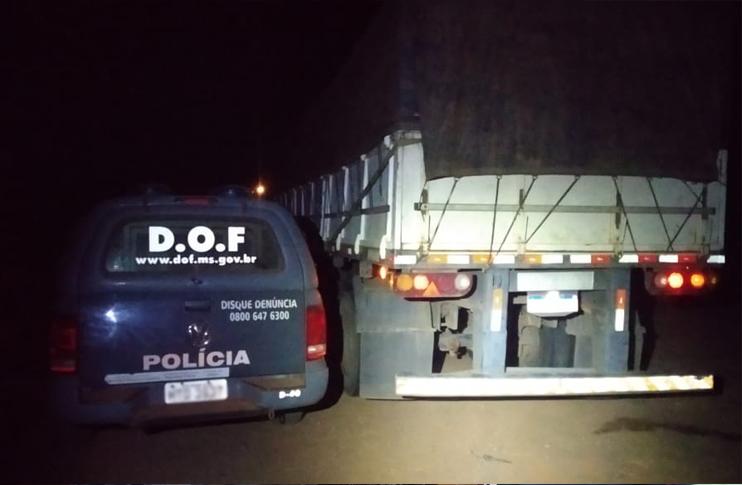 A ocorrência foi entregue na Delegacia da Polícia Federal em Dourados - Crédito: Divulgação/DOF