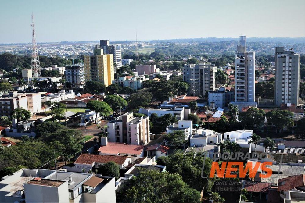 Dourados é considerado o epicentro da Covid em MS - Crédito: Hedio Fazan/Dourados News