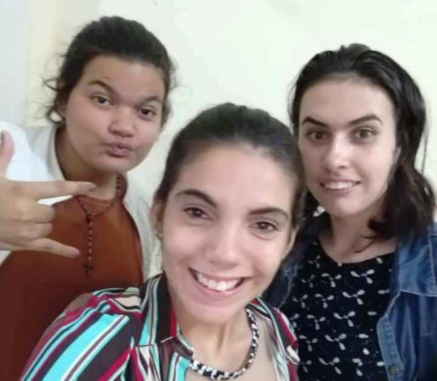 As três adolescentes que estão desaparecidas há quase uma semana em Nova Alvorada do Sul (Foto: Divulgação)
