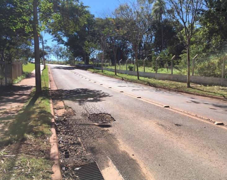 As imagens foram colhidas no mês julho de 2019, quando aconteceu o acidente - Crédito: Divulgação