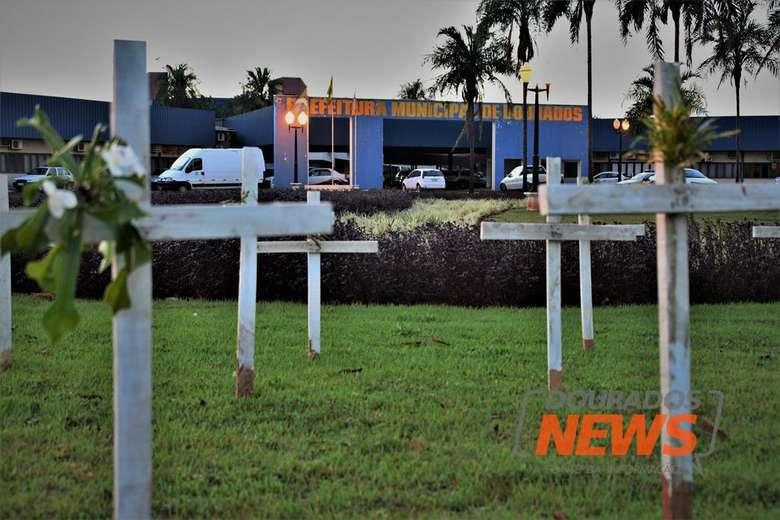 Dourados registrou 29 mortes no mês de julho - Crédito: Hedio Fazan/Dourados News