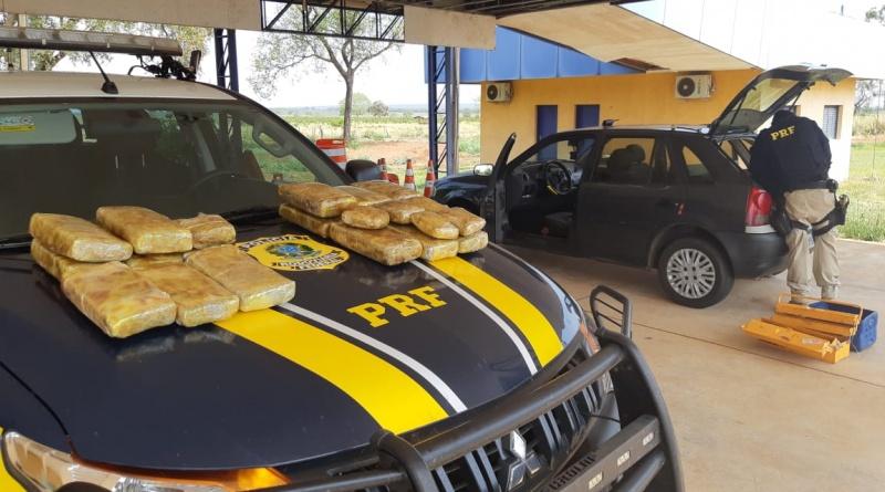 O suspeito foi preso e encaminhado para a Polícia Civil em Nova Andradina - Crédito: Divulgação
