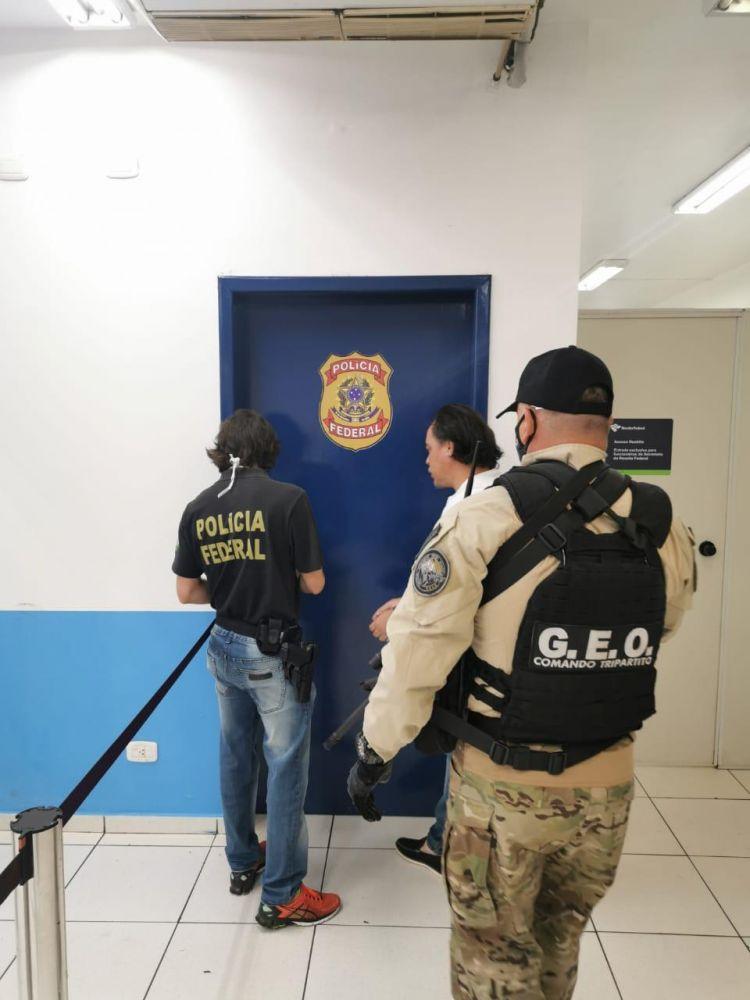Pingo foi entregue à Polícia Federal na manhã de ontem - Crédito: Divulgação/PF
