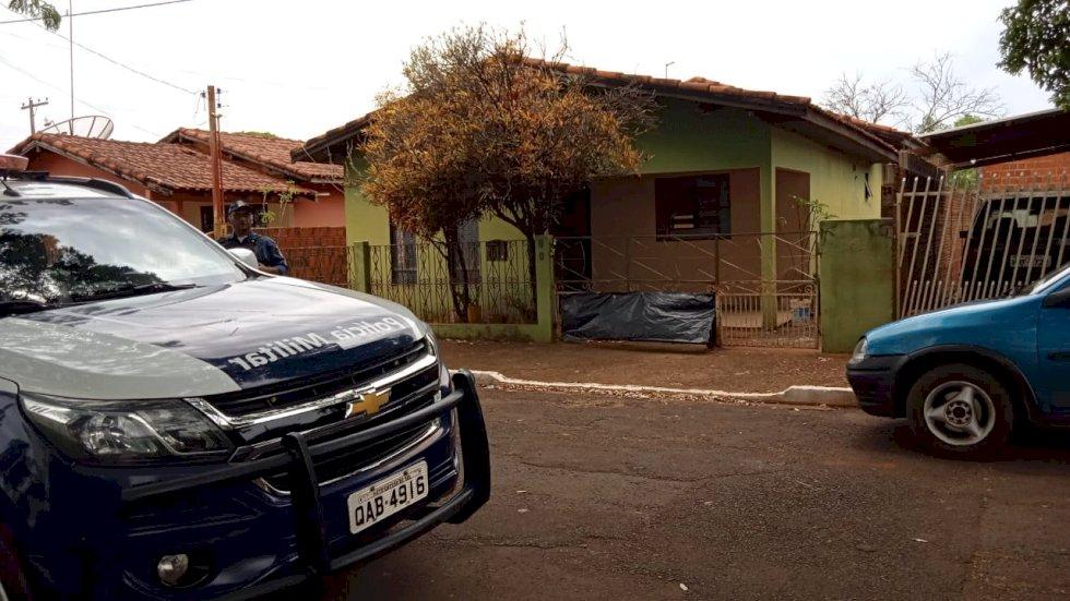 Residência do senhor Milton Nunes Garcão. Foto: J.C Escabora - Itaporã News