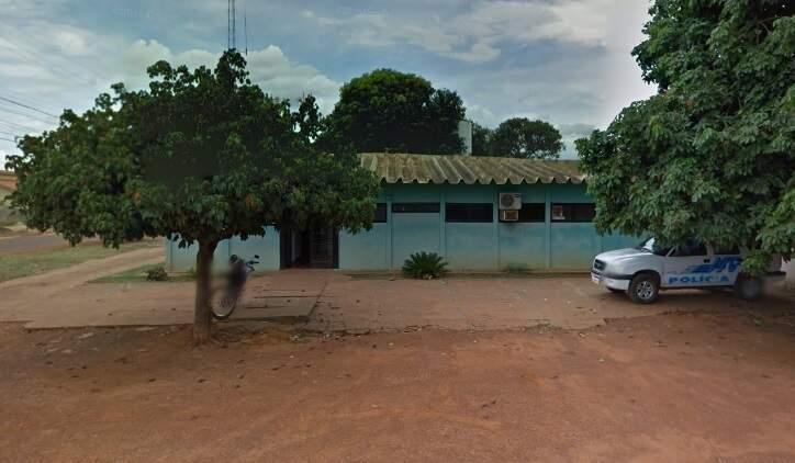 Vítima procurou a delegacia de Pedro Gomes e registrou o caso. (Foto: Google Street View)