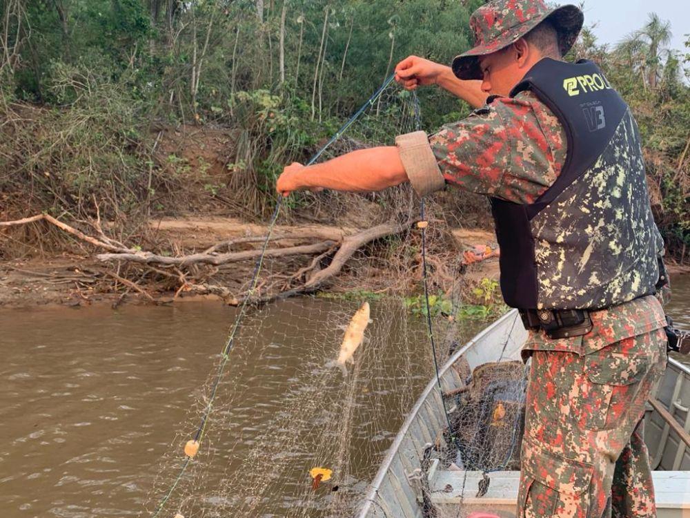 A operação envolverá 290 policiais e 20 fiscais do Imasul - Crédito: Divulgação