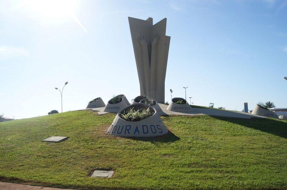 Dourados já perdeu 182 vidas para a Covid-19 (Foto: André Bento/Arquivo)