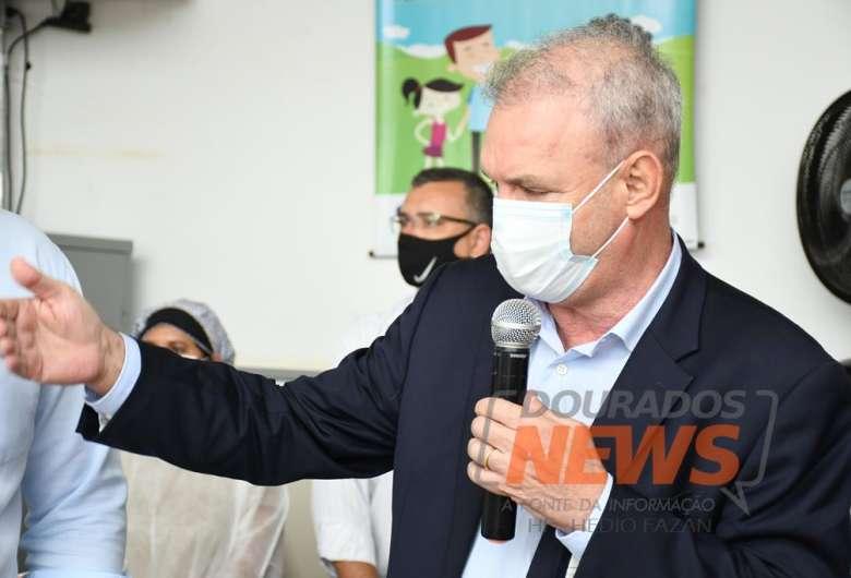 Secretário de Saúde Geraldo Resende teve o número do telefone clonado - Crédito: Hedio Fazan/Dourados News/Arquivo