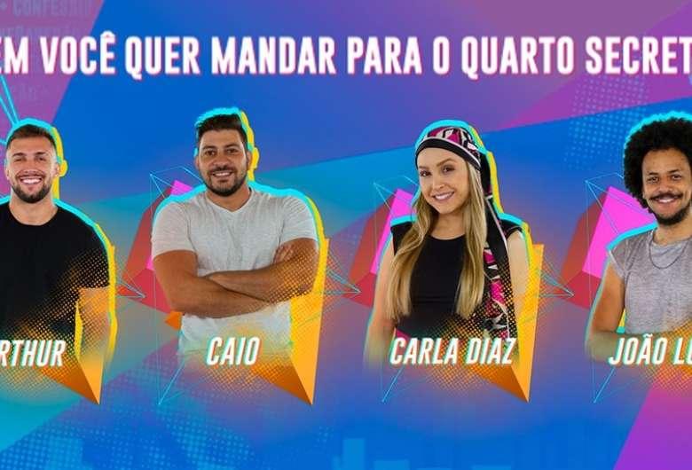 Paredão falso do 'BBB21' - Crédito: Reprodução/TV Globo