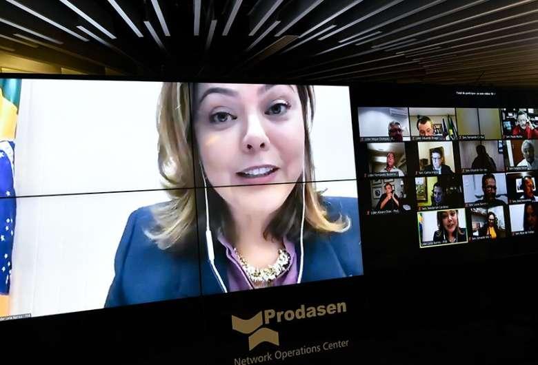 A senadora Leila Barros (PSB-DF) tem apoio das demais integrantes da bancada feminina - Crédito: Leopoldo Silva/Agência Senado