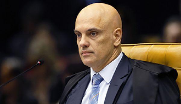 Ministro Alexandre de Moraes também solicitou ao TCU dados sobre eventuais pagamentos feitos pela Administração Pública às empresas (Foto: Divulgação/STF)