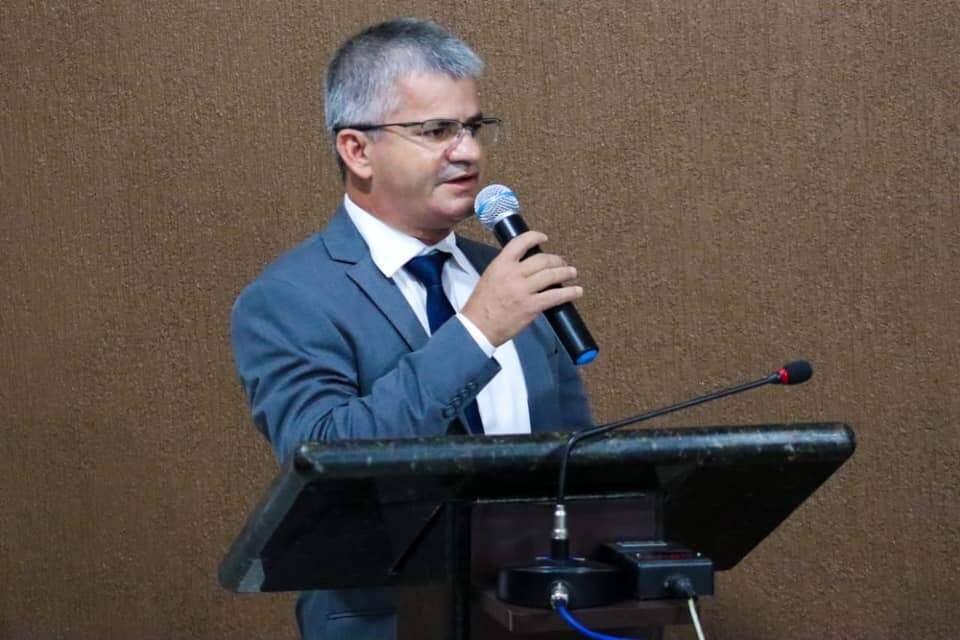 Prefeito de Sonora, Enelto Ramos (DEM). (Foto: Reprodução / Redes Sociais)
