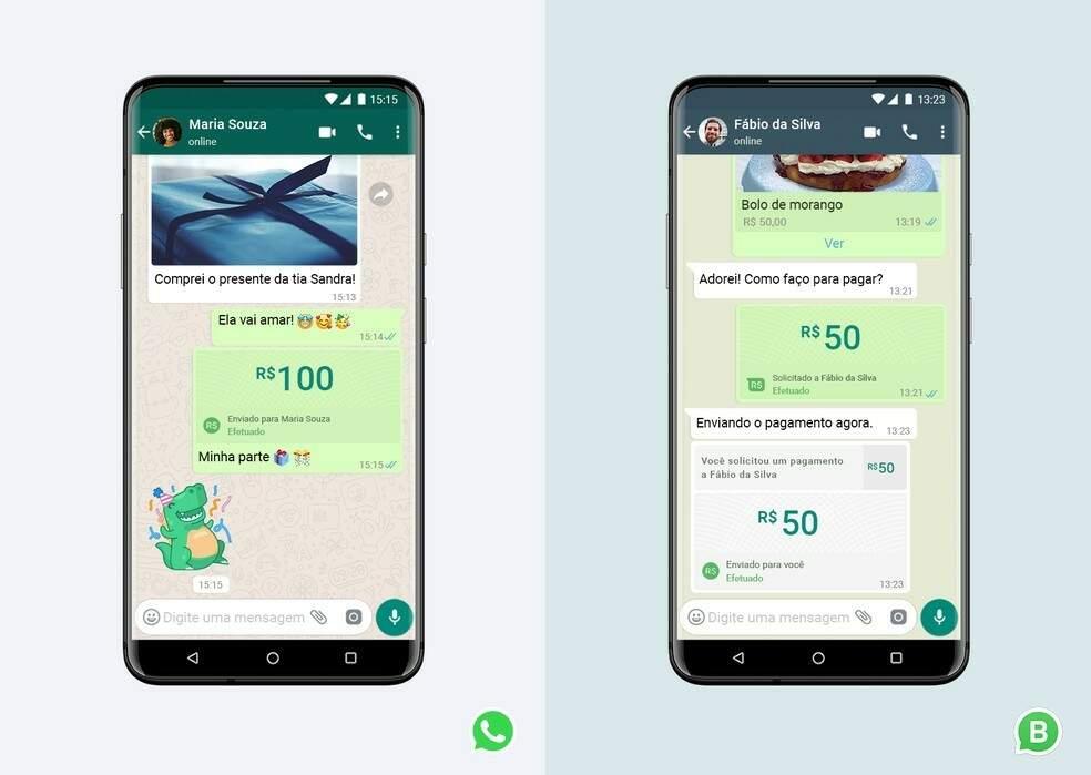 Ferramenta só poderá ser utilizada após usuário com a possibilidade de transferir dinheiro fazer uma transação para seus contatos (Foto Divulgação)