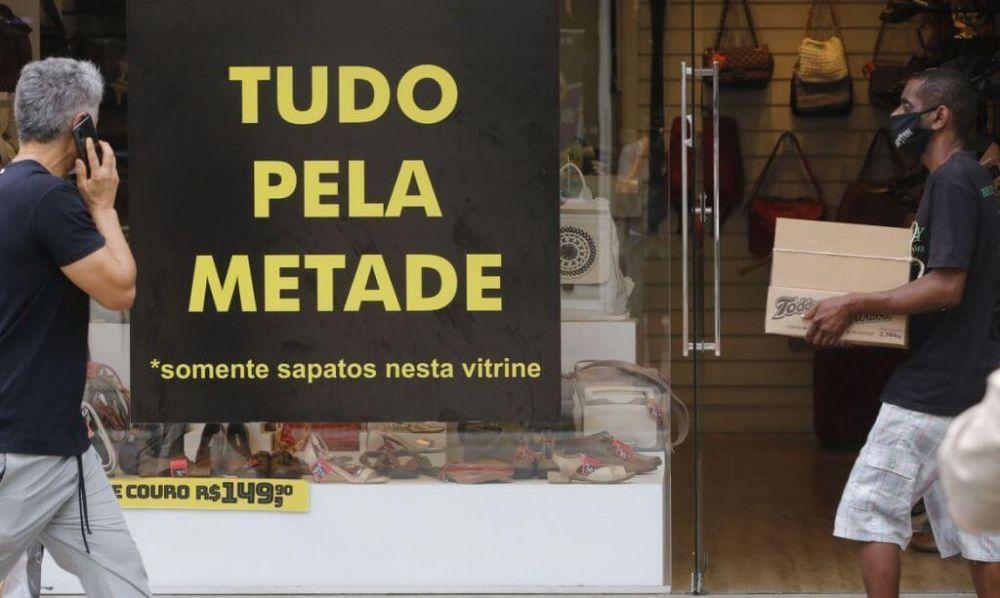 Indice aparece na zona de insatisfação pela segunda vez consecutiva (Foto: Fernando Frazão/Agência Brasil)