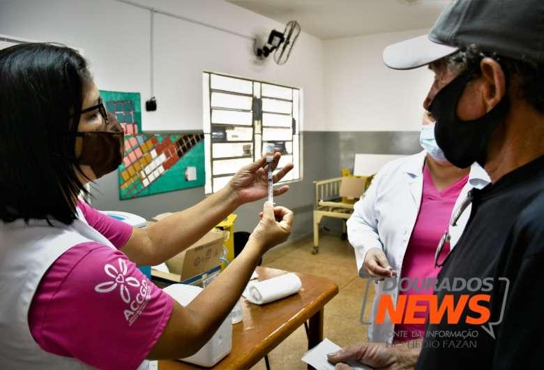 Estado vem se destacado na imunização de pessoas contra a Covid - Crédito: Hedio Fazan/Dourados News/Arquivo