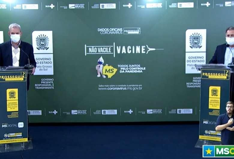 Secretários de Estado de Saúde e de Governo usaram as redes sociais do governo para justificarem classificação de risco dos municípios