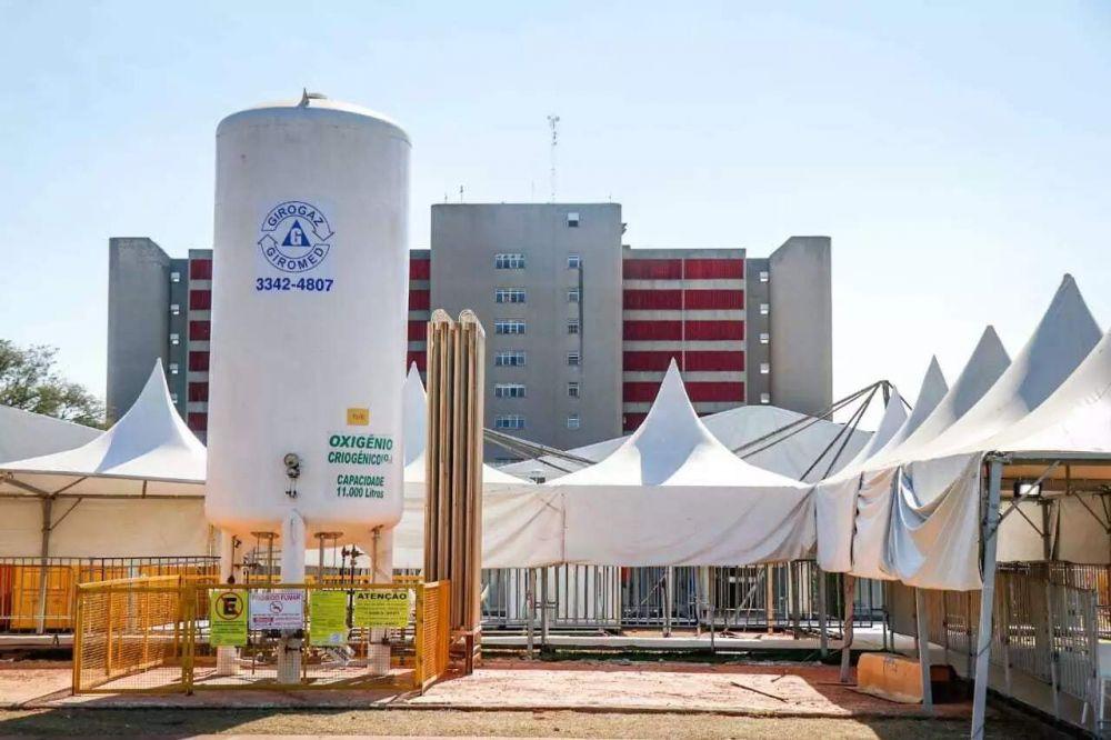 Hospital de Campanha implantado ano passado no Hospital Regional. (Foto: Henrique Kawaminami)