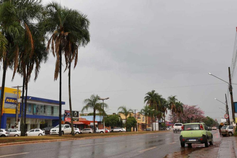 Sidrolândia terá eleições no domingo, mas clima na cidade é de como se fosse um dia qualquer (Foto: Paulo Francis)