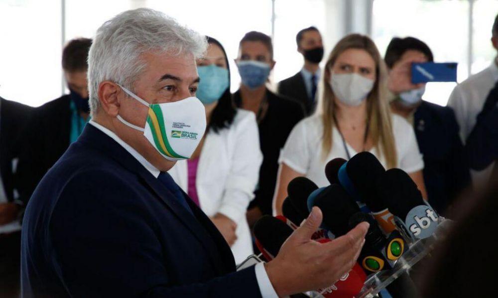 Ministro participou de fórum organizado pela OMS (Foto: Anderson Riedel/PR)